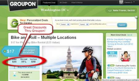 Earn Miles and Save Money With Groupon.com!