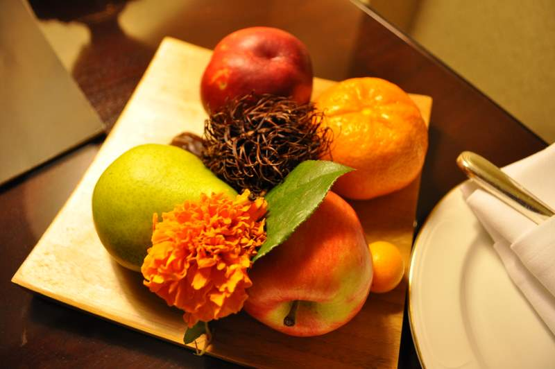 Willard InterContinental - Ambasador Fruit Plate