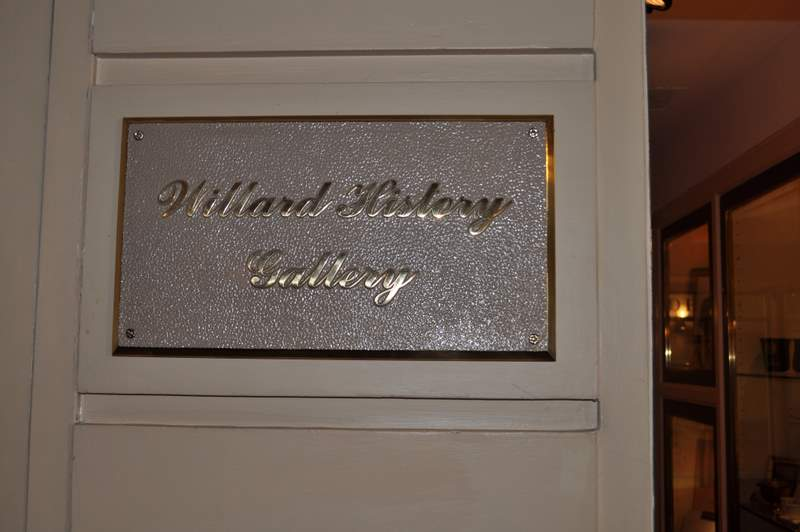 Willard InterContinental - History Center