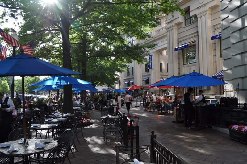 Willard InterContinental - Outdoor Cafe