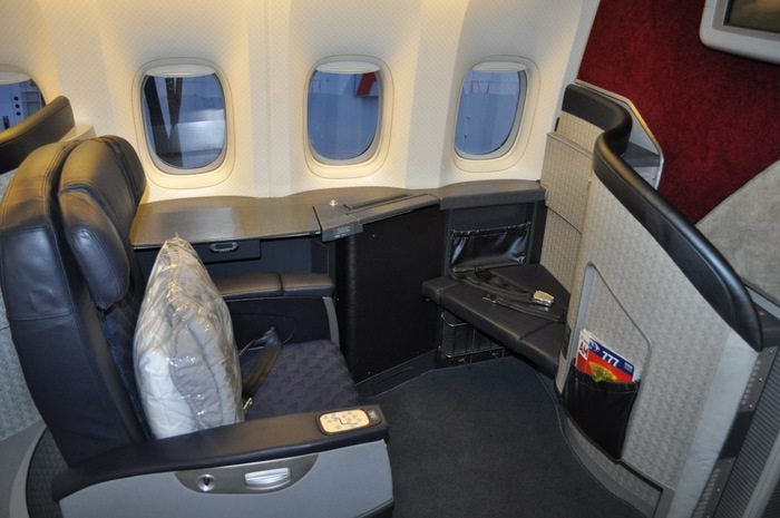 American Airlines Flagship First Class – Chicago to London – Old Seats