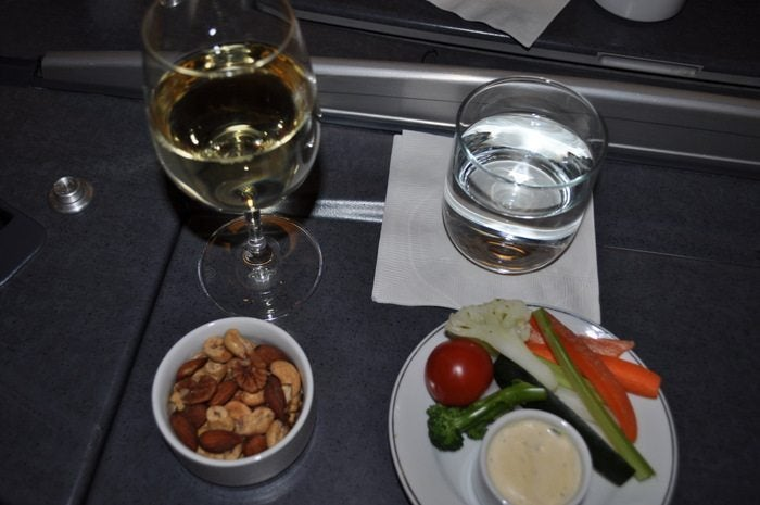 American Airlines Flagship – London to Chicago – Starters