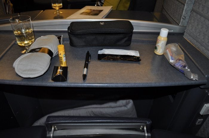 American Airlines Flagship First Class – Chicago to London – Amenity kit