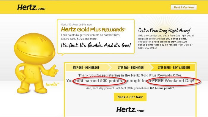 Free Hertz #1 Club Gold
