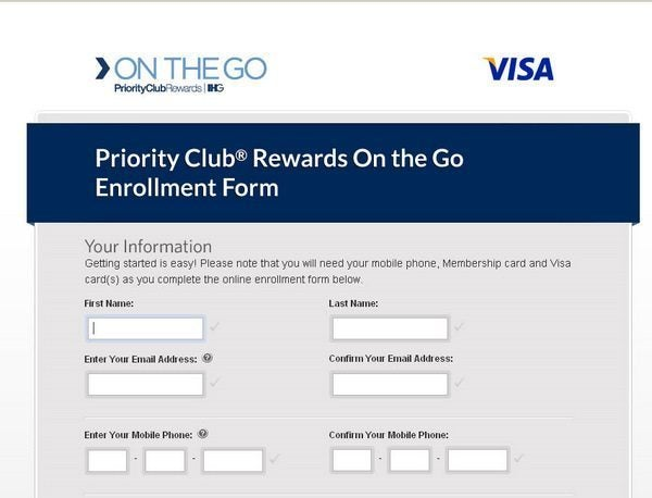 On The Go - Priority Club - 1
