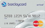 Barclays Arrival - No Annual Fee
