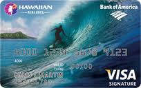 Hawaiian Airlines Credit Card Bank of America