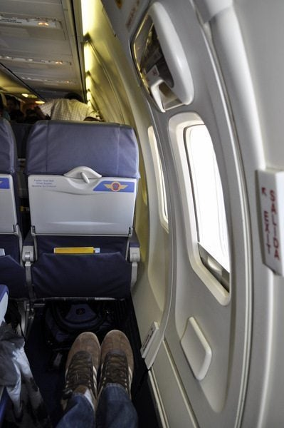 Southwest Trip Report - Lots of leg room in the plane