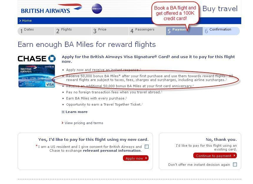 100,000 Mile British Airways Credit Card Is Back (Kind Of)! [Expired]