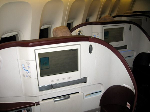 Jet Airways Business Class