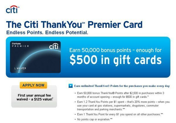 Citi Thank You Premier