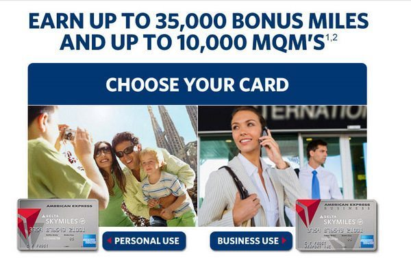 Increased Delta Offer: 35,000 (used to be 25,000) Miles Delta Platinum American Express + 35,000 mile Delta Gold Offer