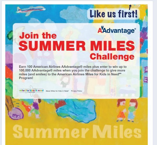 100 Free American Airlines Miles