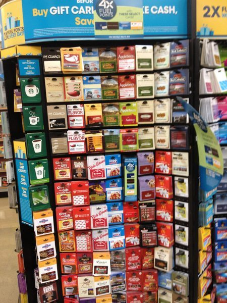 Huge Selection of Gift Cards