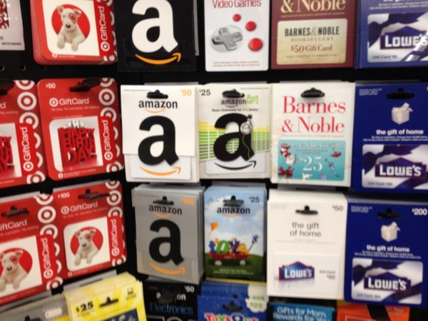 can you buy amazon gift cards at walmart