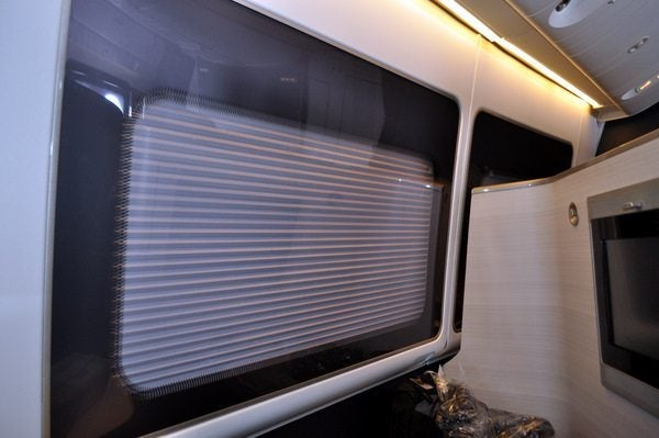 British Airways First Class Review - Electronic Window Shade