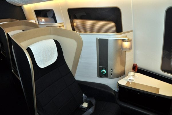 British Airways First Class Review - New Seats