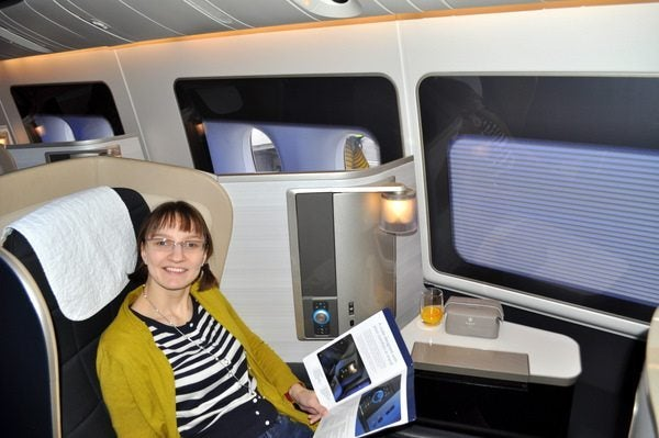 British Airways First Class Review - Emily