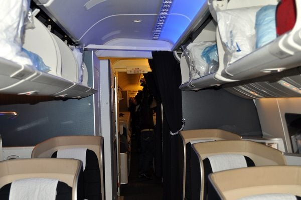 British Airways First Class Review  - Cabin