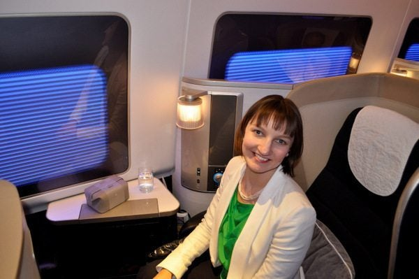 British Airways New First Class