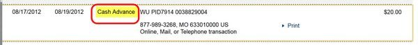 Using Western Union with Chase Sapphire Preferred