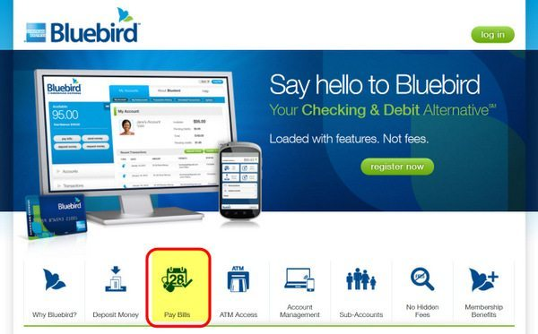 "How to Use Bluebird ""Pay Bills"" to Pay Rent, Mortgage, Credit Cards, Utilities, College Tuition, etc."