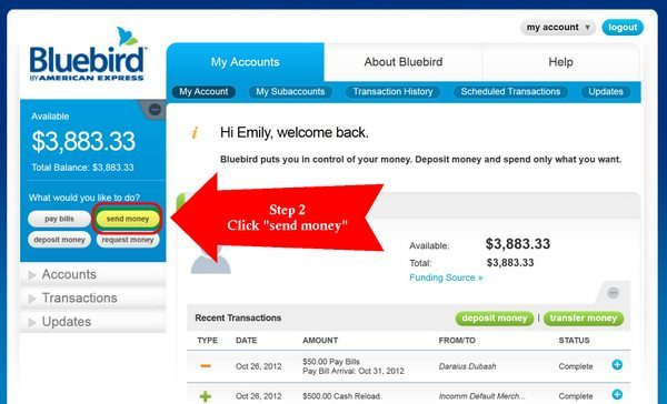 "Is American Express Bluebird's ""Send Money"" the Next Amazon Payments?"