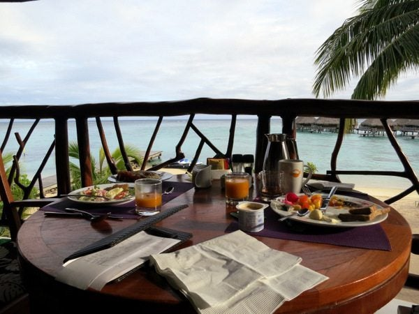 Hilton Moorea Food