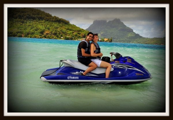 Our 2nd Honeymoon in Paradise – Jet-Skiing in Bora Bora