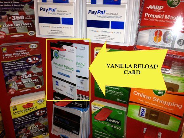 vanilla reload card - Cvs Prepaid Cards