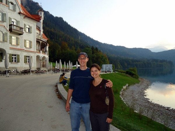 New_Girl_in_the_Air_Mike and Becky in Hohenschwangau - Sept 2011