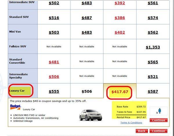 Rental Cars 8