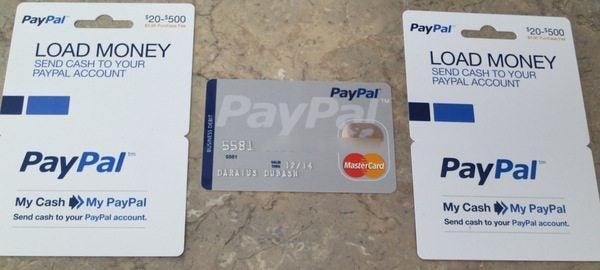 Pay Pal Debit Card