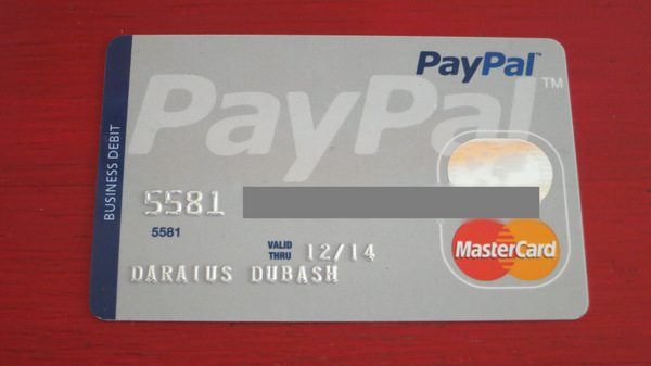 Paypal debit card million mile secrets pay pal debit card paypal business debit mastercard reheart Image collections