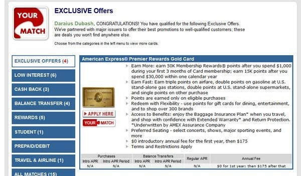 May Not Last: 50,000 Points (~$500+ Travel) AMEX Premier Rewards Gold [Expired]
