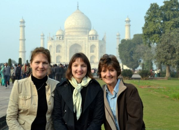 Mother-in-Law's First Trip to India