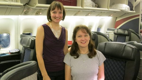 Mother-In-Law's First Trip to India: American Airlines Flagship Service From Chicago To London