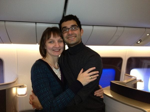 Mother-In-Law's First Trip to India:  British Airways First Class from London to Mumbai (Bombay)