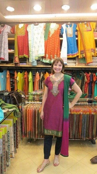 Mother-In-Law's First Trip to India: Shopping in Bombay