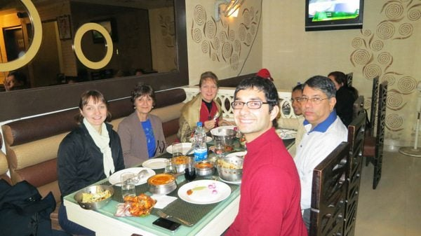 Mother-In-Law's First Trip to India: Eating in Delhi