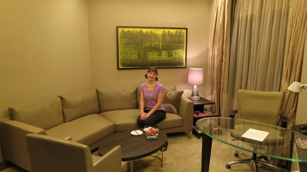 Mother-In-Law's First Trip to India: Hyatt Regency Delhi