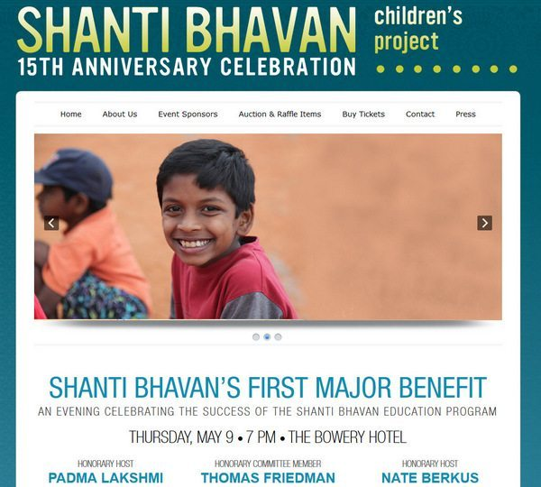Shanti Bhavan Fundraiser (New York City) & Ticket Giveaway [Expired]