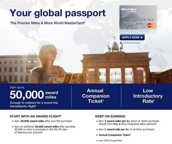 Lufthansa 50,000 Mile Card – Confusion Over Bonus & Fuel Surcharge Update