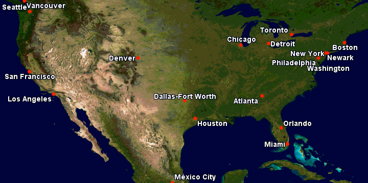 Lufthansa Flights to the US From Frankfurt