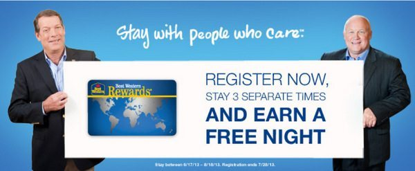 Blog Giveaway – $100 Best Western Gift Card and Summer Promotion!