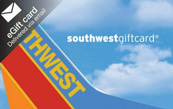 Blog Giveaway $150 Southwest E-gift Card