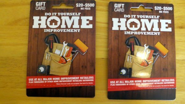 Using The Home Improvement Card to Load Your Bluebird [Expired]