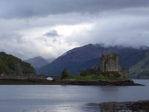 My favorite castle in Scotland (Eilean Donan)