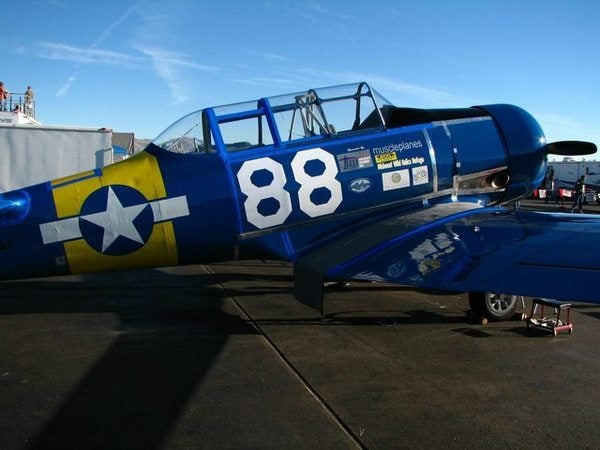 Captain Jason Dahl Scholarship Raffle for Flight in WWII T-6 Racer