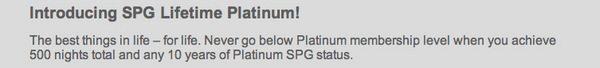 SPG Elite Status